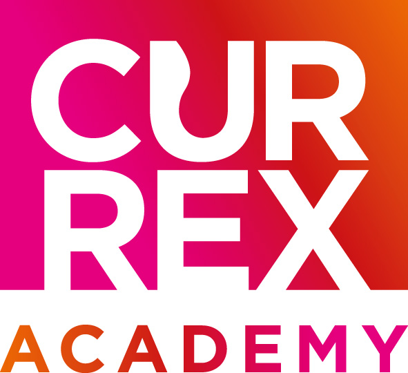 CURREX-Sublogo_Academy-CMYK_Verlauf Weiterbildungsführer